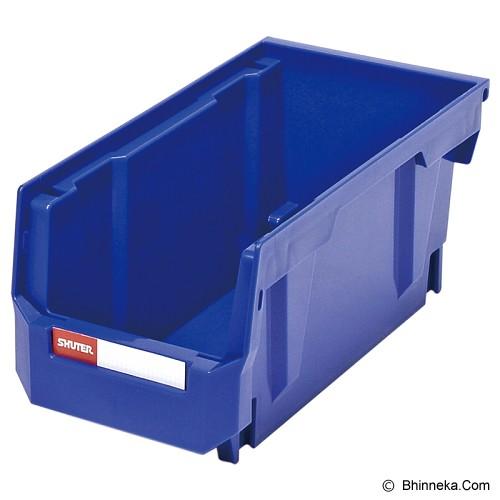 SHUTER Heavy Duty Storage Hang Bins [HB-230] - Blue - Box Perkakas